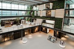 Bosch Siemens Hausgeräte office in Hoofddorp, The Netherlands by William McDonough + Partners and D/DOCK