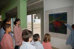Aparador d'art a l'escola Pont de l'Arcada