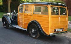 1935 Rolls-Royce Shooting Brake Woody 4D