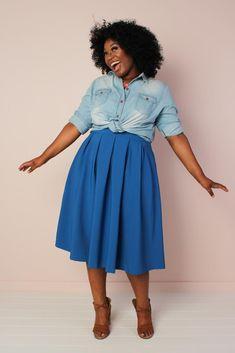 Striped skirt elegant and romantic long bell skirt plus size skirt aline skirt made to order