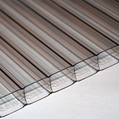 Details about 25mm Polycarbonate Roofing Sheet Clear ...