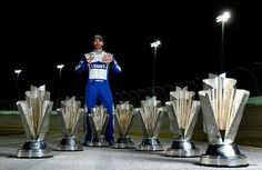 2016 NASCAR.com superlatives  By Maggie MacKenzie | Wednesday, December 28, 2016  Moment of the year: Jimmie Johnson winning his record-tying seventh championship    Honorable mention: Tony Stewart's Sonoma win; Martin Truex Jr.'s Coca-Cola 600 dominance with girlfriend Sherry Pollex in Victory Lane  Photo Credit: Getty Images  Photo: 10 / 13