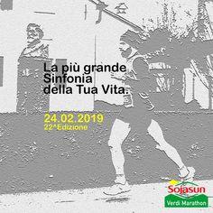 Verdi Marathon 2019 - 22a edizione si svolgerà il giorno 24/02/2019 a Salsomaggiore Terme (Pr) sulla distanza di Maratona, 30Km, Mezza Maratona e 10Km. #corriqui Movies, Movie Posters, Marathon, Films, Film Poster, Cinema, Movie, Film, Movie Quotes
