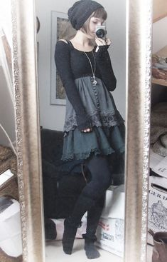 dark forest mori lolita - Google Search