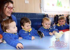 Los peques de P0 y P1 #babygardenelpeixet disfrutaron del nacimiento de los pollitos con motivo de la Semana de la Ciencia en #ColegiosISP. #enriquecimientocurricular #enjoylearningISP