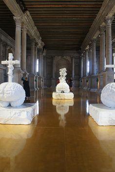 Jan Fabre_Pieta, Venice Biennale 2011 Sweet memories ! Our kids' eyes went open for art !
