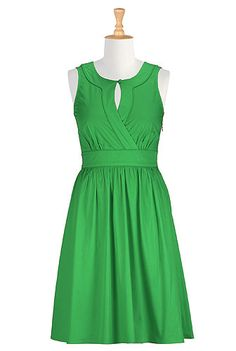 Sarah dress - love the color & the style!