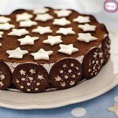 Torta pan di stelle | Icakebake