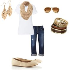 starting to feel like spring!  looking forward to capris!oheffidunno.polyvore.com
