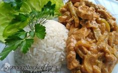 Meat Recipes, Ham, Bacon, Rice, Yummy Food, Chicken, Cooking, Beef Recipes, Cuisine