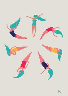 Infinite Dive by Michela Picchi