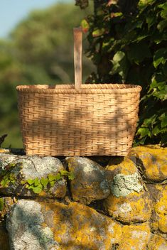 Twill Weave Market Basket Traditional Shaker Nina by stgnantucket