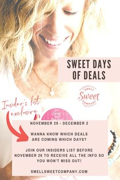 November 29 - December Wanna know which deals are coming which days? Join our insiders' list before November 26 to receive all the info so you won't miss out! Organic Lip Balm, Organic Skin Care, Natural Skin Care, Deodorant For Women, All Natural Deodorant, 29 December, Natural Lifestyle, Organic Living, Organic Coconut Oil