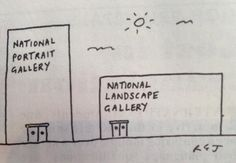 One of those cartoons that makes you think for a second -- drawn by Richard Jolley, published in Private Eye
