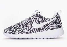 "Nike Roshe One ""Print White"