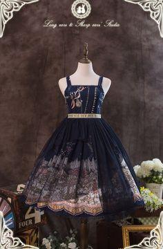 The Fair of Camelot Lolita High Waist Jumper Dress