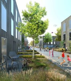 Neue Hamburger Terrassen - LAN Architecture feiern Richtfest