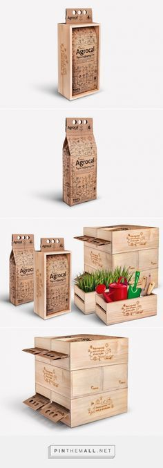 Holcim Agrocal powder gardening packaging design by Studio Sonda (Croatia) - http://www.packagingoftheworld.com/2016/04/holcim-agrocal.html - created via https://pinthemall.net