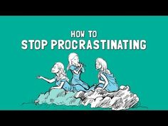 How to Stop Procrastinating - 3 steps to trick yourself into getting things done. 1) Bite sized pieces 2) Start with what you like the most and 3) Don't be distracted by time wasters. (5 minutes)