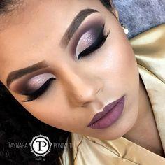 """755 Likes, 9 Comments - Taynara Pontalti Makeup (@taypontaltimakeup) on Instagram: """"Agendamentos pelo fone (44)9816-3718 Informações sobre cursos via e-mail…"""""""