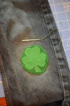 St. Patty's Day Knee Patch