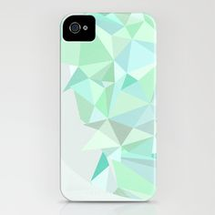 Blue / white iPhone case