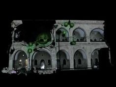 video mapping in the jerusalem Light festival 2010 3d Projection Mapping, 3d Video, Amon, Light Design, Light Project, Light Art, Jerusalem, Sally, Studio