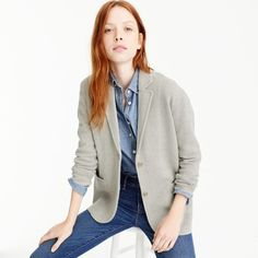 merino wool sweater-blazer : women's sweaters