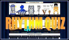 Rhythm Quiz :http://www.stringquest.com/rhythm-quiz/