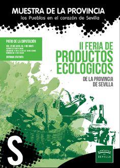 Cartel II Feria de productos ecológicos de la Provincia de Sevilla 2016