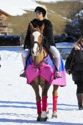 Katie Price Riding