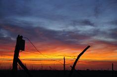 Nebraska sunset    www.wunderground.com