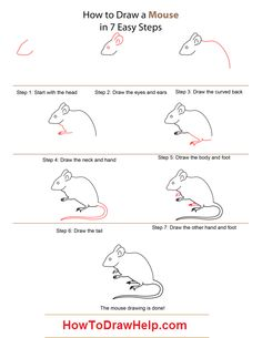 how to draw a mouse step by step lots of drawing tutorials at www