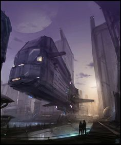 Lorenz Hideyoshi Ruwwe Sci-Fi Art | Hideyoshi Science Fiction Artist