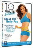 10 Minute Solution: Blast Off Belly Fat  [DVD]: fitness dvds for women