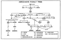lineage of abraham chart - Yahoo Search Results Bible Family Tree, Family Tree Chart, Family Trees, Scripture Study, Bible Verses, Genealogy Of Jesus, Abraham And Sarah, Tree Map, Jesus Painting