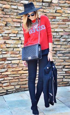 Thassia Naves in #JBRAND's #LittleBlackJean.