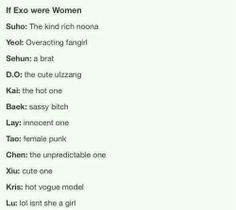 Luhan is manly okay? ... why is it so hard to not laugh at this? Haaa I'm mean again ...