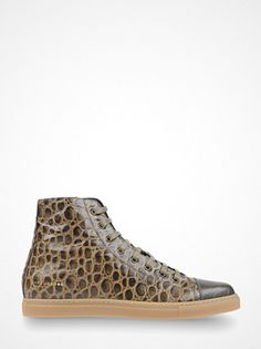 MARC JACOBS  HIGH-TOP SNEAKER. £245