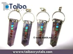 #Amethyst #Chakra Flat Stick #Pendant Useful function of Amethyst is in the conscious invocation of higher spiritual energies and entities. http://www.taibacrystals.com/index.php/productdetail/amethyst-chakra-flat-stick-pendant