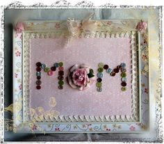 Pretty and elegant craft for next mother's day!