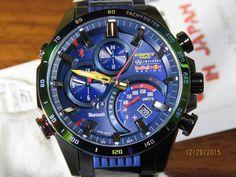 a9094469818479 นาฬิกาข้อมือ Casio Edifice Red Bull รุ่น ERA-201RBK-1A นาฬิกาข้อมือ ...