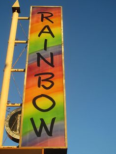 Rainbow Room On Sunset