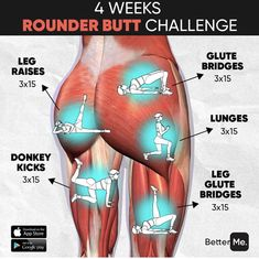 Fitness Workouts, Gym Workout Tips, Fitness Workout For Women, At Home Workout Plan, Butt Workout, Workout Challenge, Fitness Diet, Workout Videos, At Home Workouts