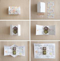 promo packaging origami