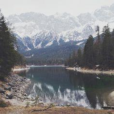 Eibsee  http://www.deadbirds.org/blog/eibsee-3/ #Eibsee #bavaria #lake #mountains #outdoors #mountainlake