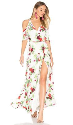 Privacy Please ROBE ACME en Fleuri Blanc | REVOLVE