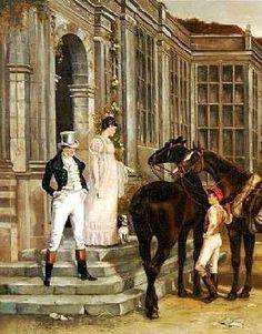 The gentleman's groom...