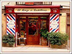 La barbería más antigua de Madrid.