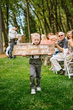 walking down the wedding aisle http://www.weddingchicks.com/2013/09/30/vintage-vineyard-wedding/